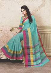 Pure Cotton Saree - P1075 ARRS Silks