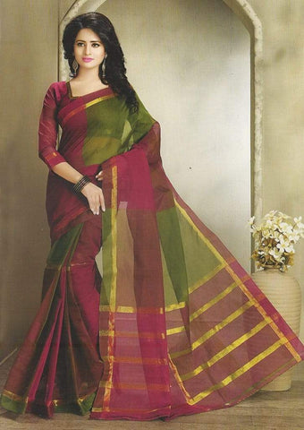 Pure Cotton Saree  TW1040 ARRS Silks