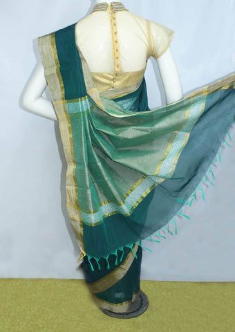Ramar Green Fancy Cotton Saree - FO77899 ARRS Silks