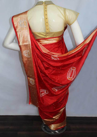 Red Designer Saree-FO43922 ARRS Silks