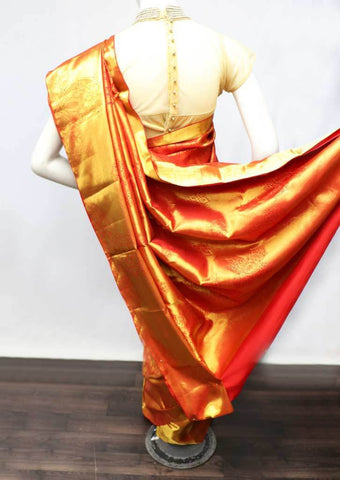 Red  Wedding Silk Saree - FF31735 ARRS Silks