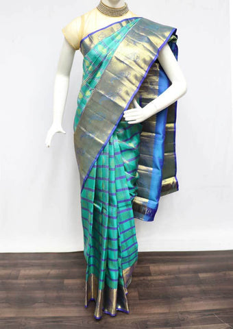 Rexona Green  Wedding Silk Saree - 9KA101 ARRS Silks