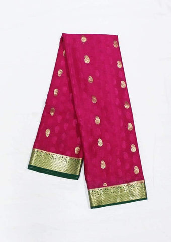 Rose Mysore Silk Saree-FA1199 ARRS Silks