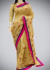 Sandal Bhagalpuri Cotton ARRS Silks