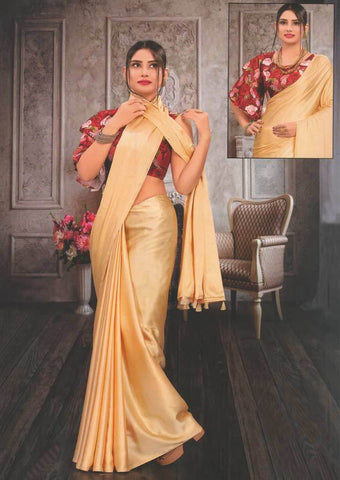 Sandal Fancy Saree-FS32467 ARRS Silks