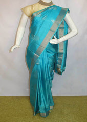Sky Blue Soft Silk Saree -FL84619 ARRS Silks