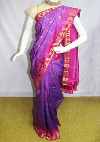 Violet Kanchipuram Silk Saree-FN80369 ARRS Silks
