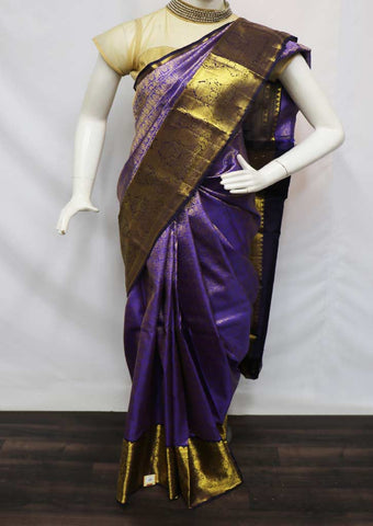 Violet Pattu Saree - 9KA7046 ARRS Silks