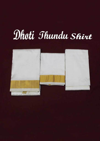 Wedding Set Pure Silk Dhoti -9KA5103 ARRS Silks