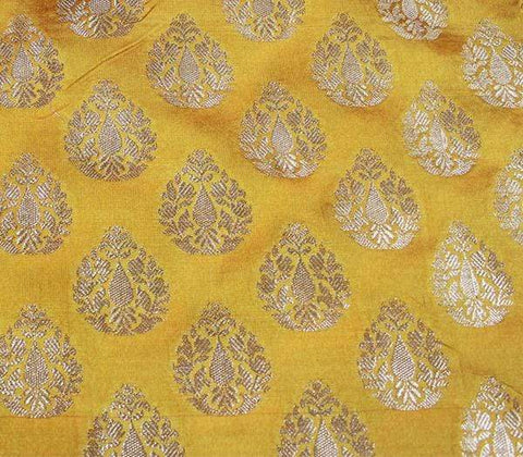 Yellow Blouse Fabric EW15963 ARRS Silks