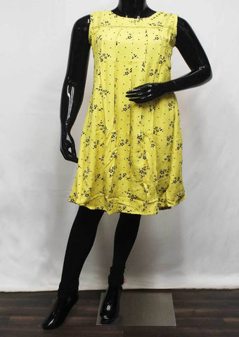 Yellow Color Kurti - FR14077 ARRS Silks