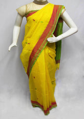 Yellow Color Linen Saree - FP9890 ARRS Silks