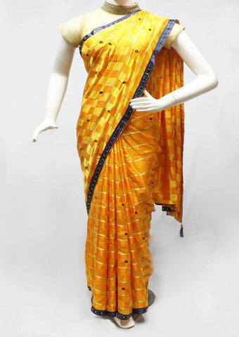 Yellow Color Synthetic Saree-FR95502 ARRS Silks