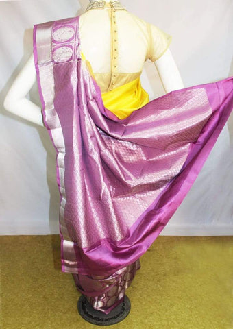 Yellow Kanchipuram Silk Saree-FM83179 ARRS Silks