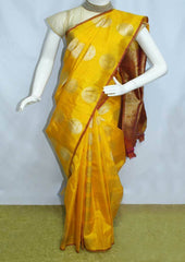 Yellow Kanchipuram Silk Saree-FM92069 ARRS Silks