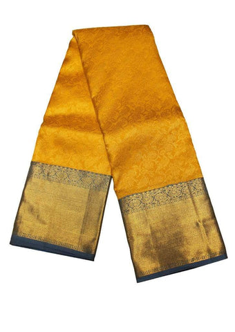 Yellow Muhurtham Silk Saree ARRS Silks