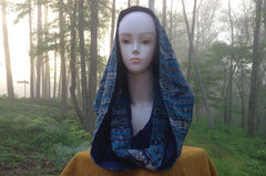 Blue Lined Toto Sparkle - infinityhoods.com
