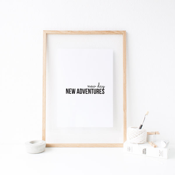 New Day, New Adventures