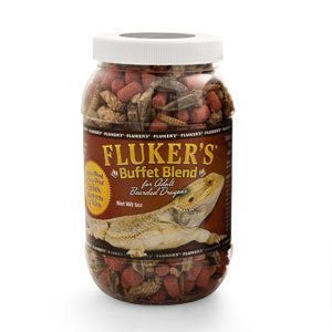 Fluker Labs SFK76040 Adult Bearded Dragon Buffet Blend Food, 1.5-Ounce