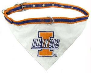 Pets First Illinois Fighting Illini Bandana - Large