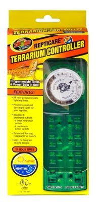 "ZOO MED/AQUATROL, INC - REPTICARE TERRARIUM CONTROLLER ""Ctg: REPTILE PRODUCTS - REPTILE - HOODS/LIGHT FIXTURES"""