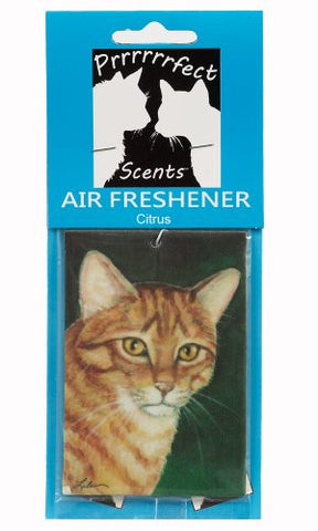 Prrrrrrfect Scents Orange Tiger Cat Air Freshener, Citrus
