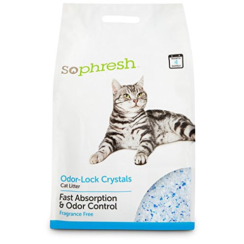 So Phresh Odor-Lock Crystal Cat Litter, 15 lbs.