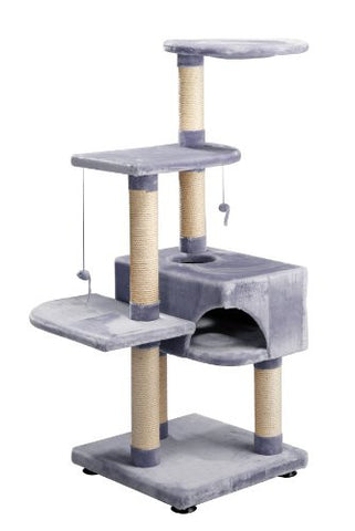 Europet Bernina Comfort-Tree Climber-Home Pet Memorial Product, 56 by 56 by 145cm, Gris