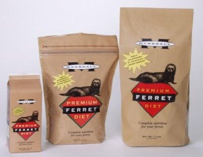 "MARSHALL PREMIUM FERRET DIET 35 LB ""Ctg: SMALL ANIMAL PRODUCTS - SMALL ANIMAL - FOOD"""
