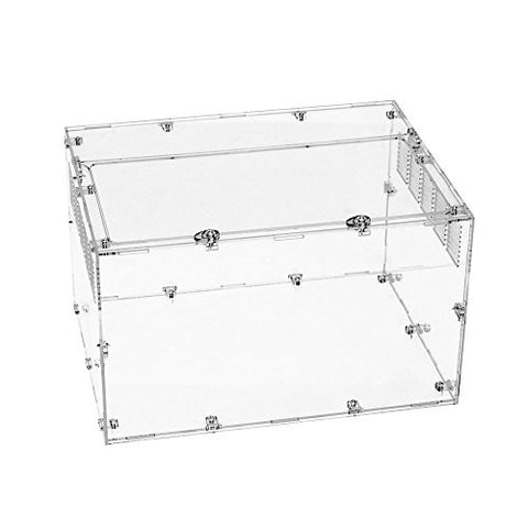 Happy Pet Super Clear Acrylic Cage for Reptiles & Amphibians & Small Animals