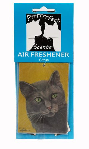 Prrrrrrfect Scents Grey Cat Air Freshener, Citrus
