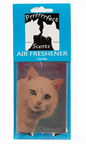 Prrrrrrfect Scents White Cat Air Freshener, Vanilla