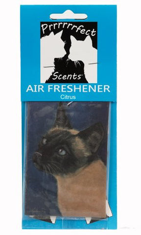 Prrrrrrfect Scents Siamese Cat Air Freshener, Citrus