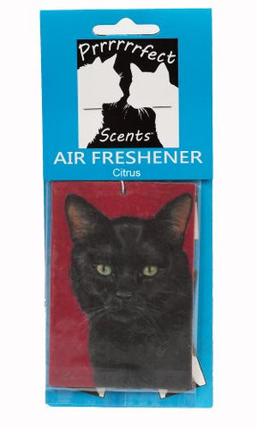 Prrrrrrfect Scents Black Cat Air Freshener, Citrus
