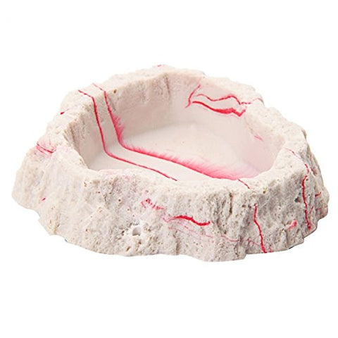 NOMO NS-54 Healthy Hygienic Natural Resin Reptile Basin White
