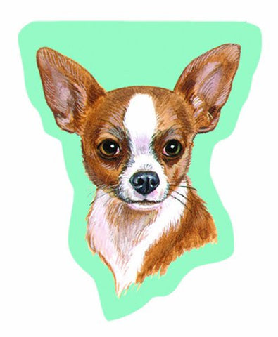 LittleGifts 2-Pack Sticky Notes, Chihuahua