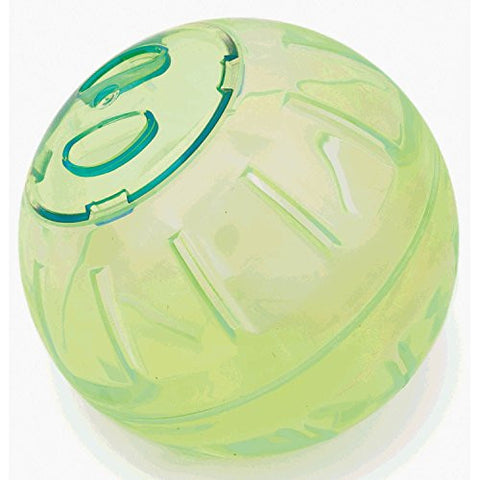 Pennine Hamster/Mouse Mini Play Ball (5in) (Green)
