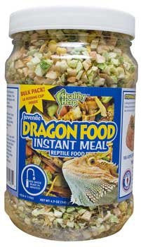 San Francisco Bay Brand Healthy Herp Instant Meal Juvenile Dragon Food Bulk 4.9 Oz