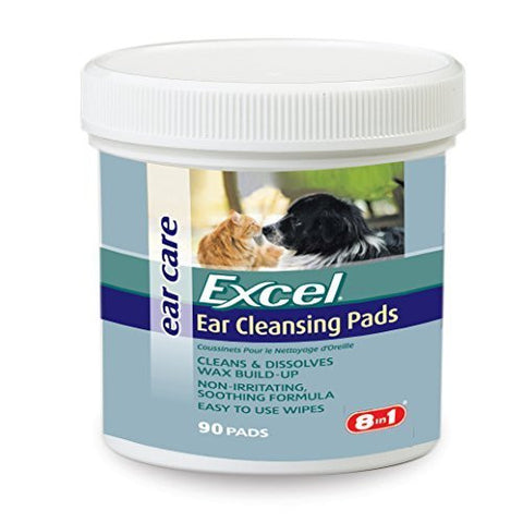 Excel Ear Clear - Ear Cleansing Pads, 180-Count