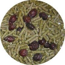 Exotic Island Pets Chinchilla Diet with Rose Hips Food 3 lbs Bag