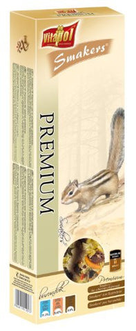 Vitapol Premium Smakers Treat Sticks for Siberian Chipmunk includes 2 Sticks