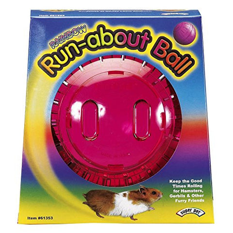 Interpet Limited Superpet Run About Ball For Small Animals (Assorted Colors) (7in) (Assorted)