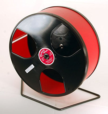 "Rodent - Semi-Enclosed Exercise Wodent Wheel 'Wobust' 12"" Red"