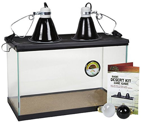 "10"" x 20"" x 12"", Screen Cover and Security Clips Basic Desert Kit, 10-Gallon"