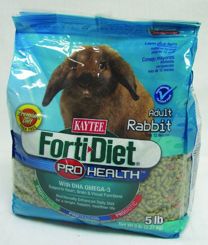 KAYTEE PRODUCTS INC 100502313 FORTI DIET PROHEALTH ADULT RABBIT 5 POUND