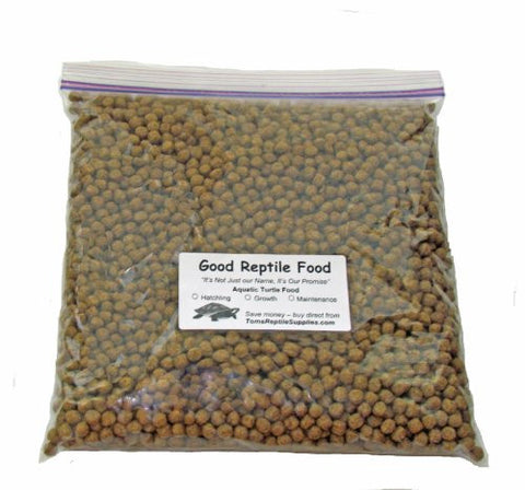 Aquatic Turtle Food Maintenance 2 Lbs Bulk for Adult Aquatic Turtles New 1/4 Inch Pellet Size