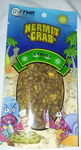 Hermit Crab Food Pouch 2 Ounce By Florida Marine Research (FMR)