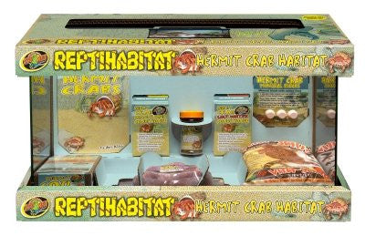 "HERMIT CRAB KIT - TANK NOT INCLUDED ""Ctg: REPTILE PRODUCTS - REPTILE - HERMIT CRAB: HABITAT"""
