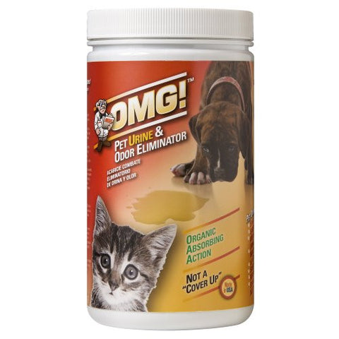 MEDS OMG (PETS) Pet Urine and Odor Eliminator - 2 lb. Bottle