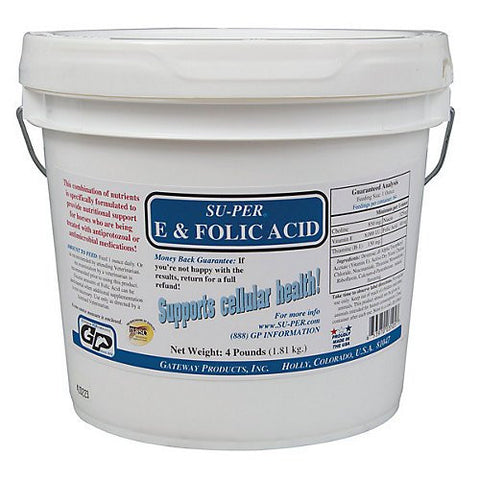 Su-Per E Folic Acid - 4 Pounds